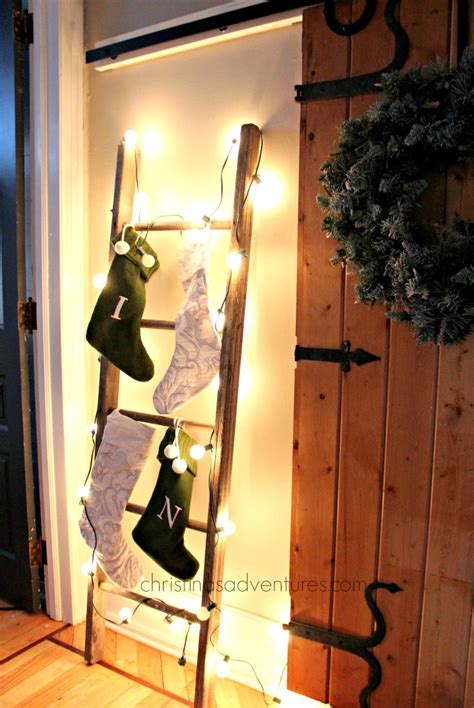how to hang on a ladder christinas adventures
