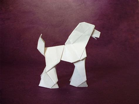 Poodle Origami - origami dogs page 5 of 8 gilad s origami page