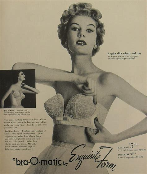 vintage bra commercials a slice of cheesecake bra o matic ad 1950 s