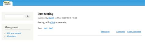 drupal theme node teaser links should not be indicated by color only 890362