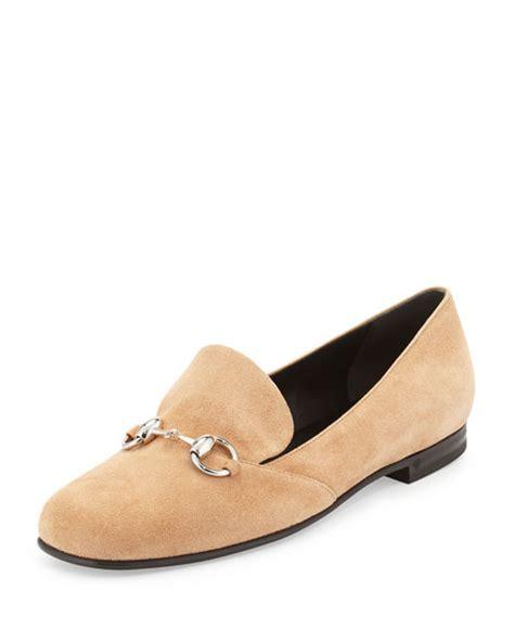 Sale Gucci W9644 Flat Shoes Sepatu Wanita gucci suede bit loafer beige neiman