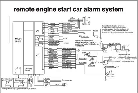 vehicle wiring diagram remote start free wiring