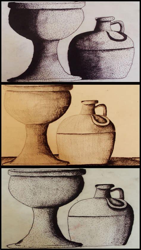 imagenes de jarrones a lapiz dibujo jarros y jarrones gabrielhaydee
