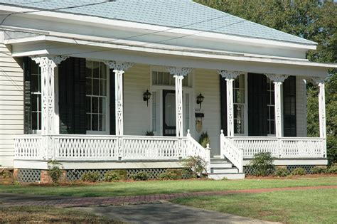 revival homes decoration interesting front porch and porch railings with front stoops for revival homes