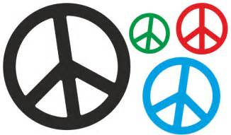 autoaufkleber aufkleber hippie blumen reserveradcover peace logo peace zeichen cnd symbol
