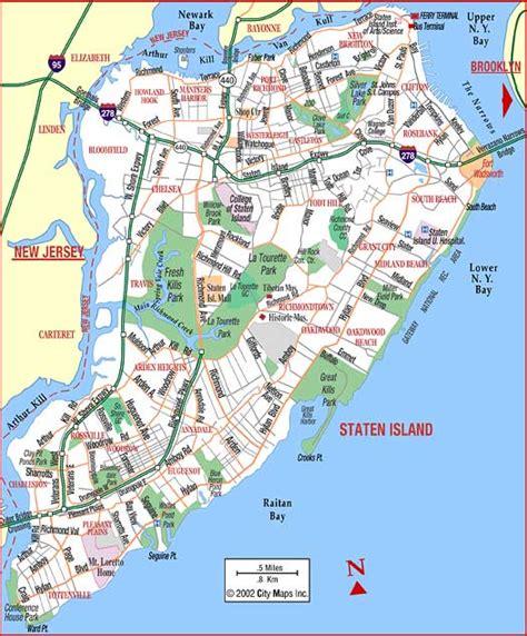 staten island map staten island ny