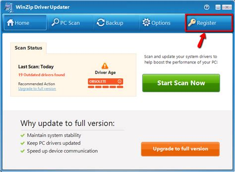 winzip driver updater full version crack how do i activate or register driver updater to download