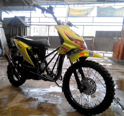 modifikasi motor matic galery foto modifikasi motor matic trail viwimoto