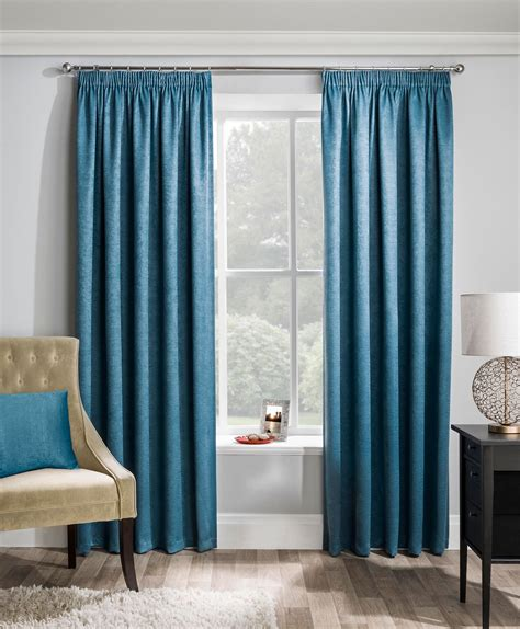 Adelaide Thermal Dimout Teal Ready Made Curtains