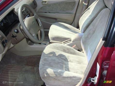 1998 Toyota Corolla Interior by Beige Interior 1998 Toyota Corolla Le Photo 68597876