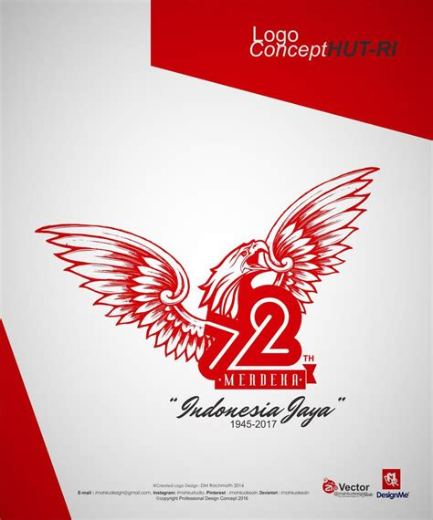 hut ri 72 logo garuda jaya by imahkudesain on deviantart
