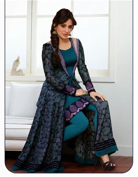 jacket design kameez buy neha sharma designer salwar kameez with long jacket