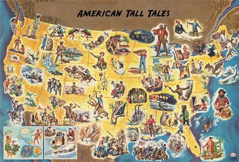 An American Folktale Of Exaggerations Tales Livebinder