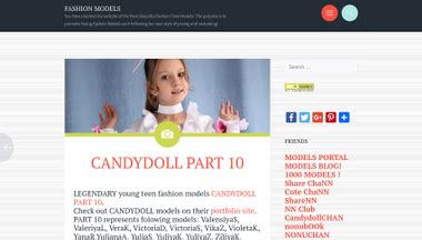 candydollchan net fashion models info website review for fashion models