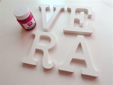 decoracion de letras de madera mi papel preferido diy decora con tu nombre lienzos