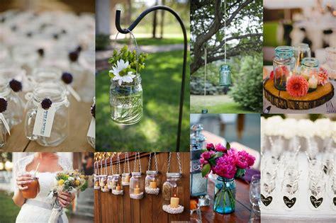 Recycled Wedding Decor by Jarred Eco Beautiful Weddings The E Magazine