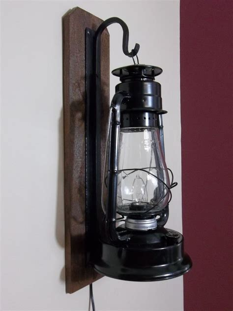 Lantern Wall Sconce by Rustic Electric Lantern Wall Sconce Bathroom Lights