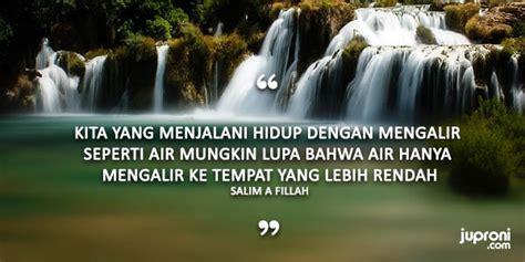 kata kata bijak jalani hidup  air mengalir