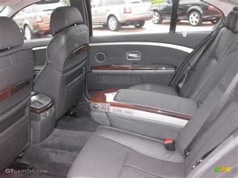 Bmw 7 Series 2003 Interior by Black Black Interior 2003 Bmw 7 Series 760li Sedan Photo