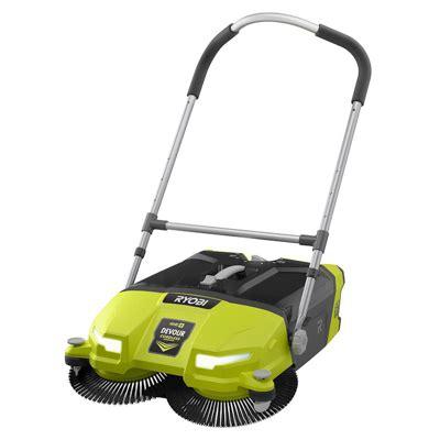 ryobi devour  cordless sweeper tool box buzz tool box