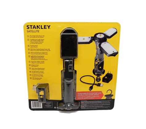 stanley bf0109 barflex corded cordless rechargeable led work light stanley work light images