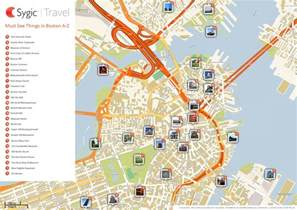 map of boston attractions tripomatic