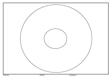 circle map template circle map