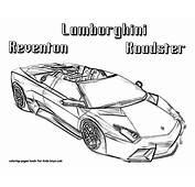 Free Printable Drawing Sheets  Car Coloring Page