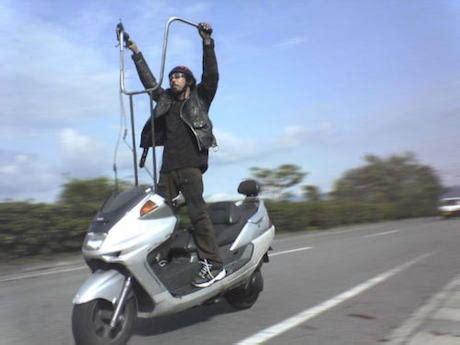 Spidometer Gorilla Crome are ape hanger handlebars dangerous motorbike writer