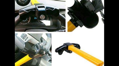 Kunci Stir Mobil Lipat Dashboard kunci stang stir mobil anti maling model 1pin kuning di