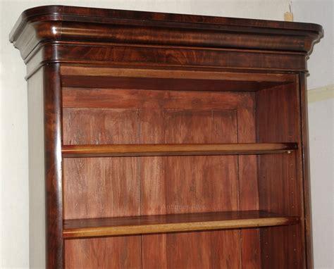 Tall Narrow Victorian Mahogany Bookcase Antiques Atlas Narrow Mahogany Bookcase
