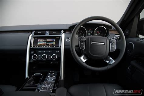 land rover hse interior 2017 land rover discovery sd4 hse review