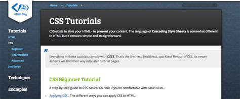 foundation css tutorial video beginner resources where to learn css online wdexplorer