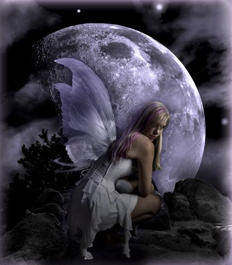 Light Fairies Moon Light By Kirstenstar On Deviantart