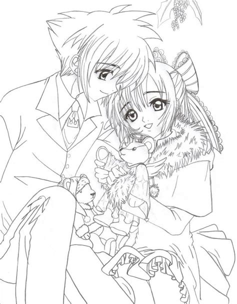 1423 best images about black and white coloring pages on anime group coloring sheets usui takumi coloring page by