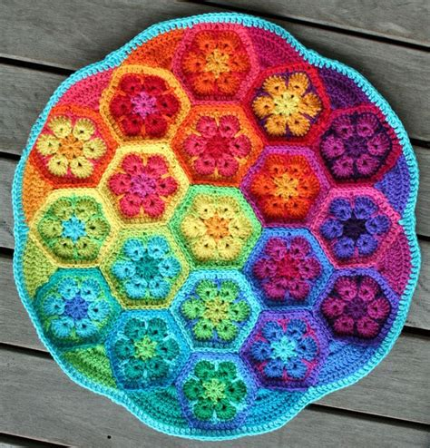 pattern flower english 223 best images about crochet granny square on pinterest