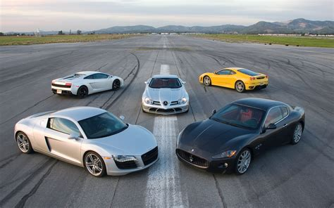 The Ultimate Play Date Maserati Granturismo Audi R8