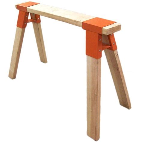 saw horse work bench null super steel sawhorse brackets sawhorse brackets