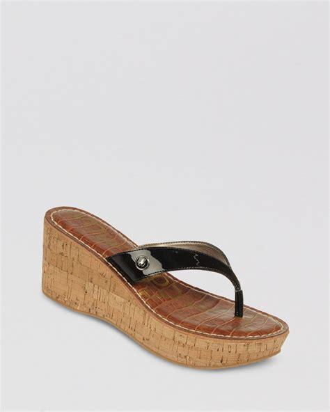 sam edleman sandals sam edelman platform wedge sandals romy in gray