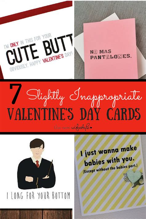 offensive valentines cards 7 slightly inappropriate s day cards the new