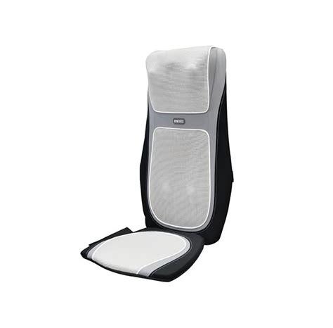 homedics chair pad with heat homedics sensatouch 2 in 1 shiatsu chair cushion