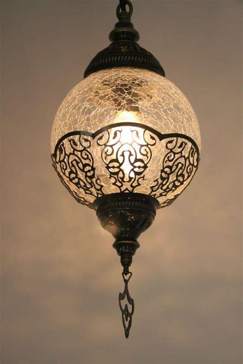 Turkish Lighting Fixtures Large Turkish Ottoman Moroccan Craquelure Glass Light L Pendant Lights
