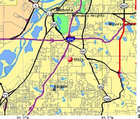 zip code map eagan mn 55121 zip code eagan minnesota profile homes