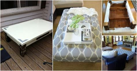 Turn A Coffee Table Into An Ottoman How To Instructions Turn Coffee Table Into Ottoman