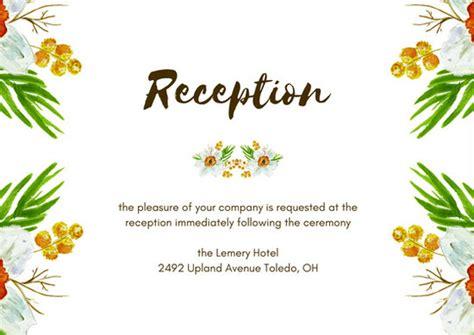 diy rustic wedding details card template printable wedding details