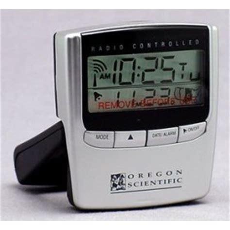 oregon scientific exact set travel alarm clock rm826a 39