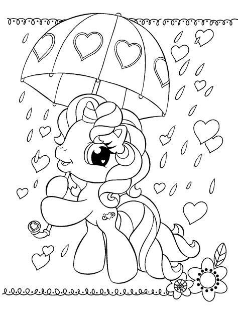 Free Printable My Little Pony Coloring Pages For Kids Small Coloring Pages