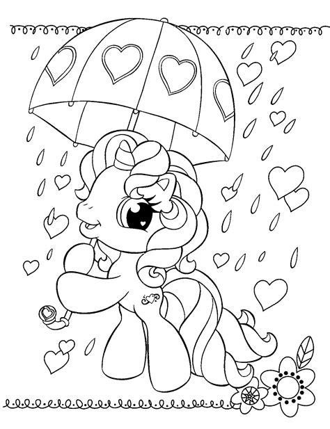 Petit Poney #71 (Dessins Animés) – Coloriages à imprimer