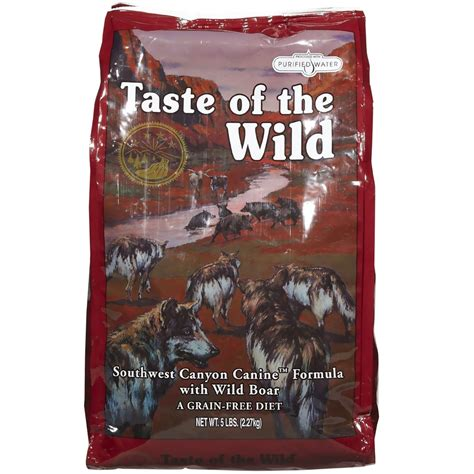 taste of puppy taste of the southwest food 5 lb entirelypets