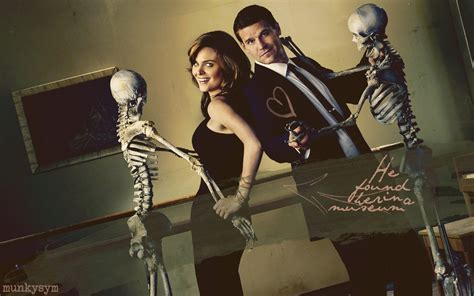 and bone bones and booth booth and bones wallpaper 10387124 fanpop